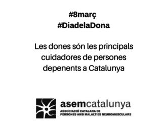Les dones són les principals cuidadores de persones depenents a Catalunya
