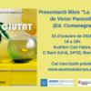 """15 d'octubre, presentació llibre """"La ciutat"""" de Víctor Panicello"""
