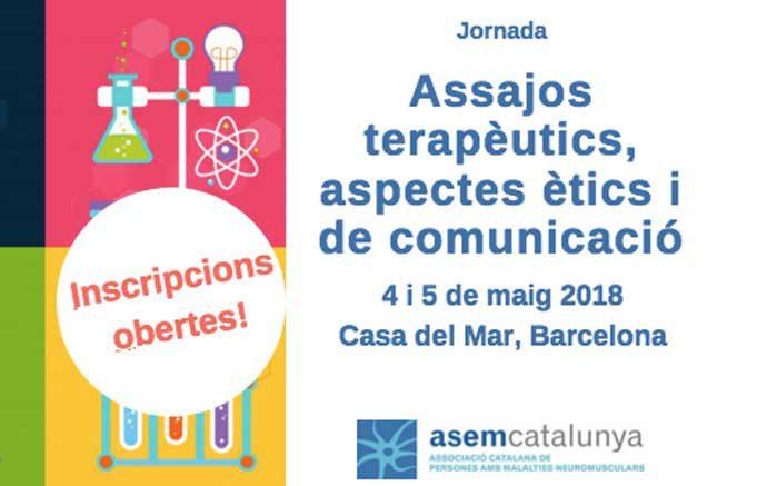 Obrim inscripcions per les Jornades ASEM Catalunya 2018, 4 i 5 de maig, Barcelona