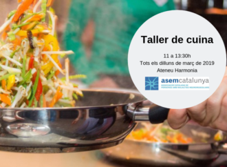 Nova edició del taller de cuina ASEM Catalunya